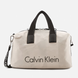 Calvin Klein Women's City Nylon Duffle Bag - Cement
