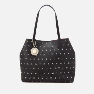 Versace Jeans Women's Embellished Shopper Bag - Black