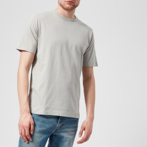 Folk Men's Contrast Sleeve T-Shirt - Soft Grey