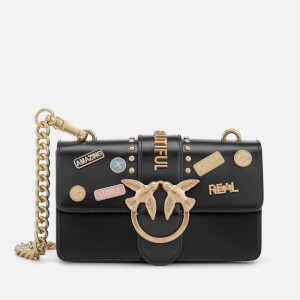 Pinko Women's Mini Love Pins Cross Body Bag - Black