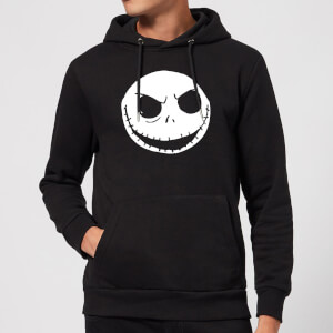 Felpa con cappuccio Disney The Nightmare Before Christmas Jack Skellington Black Pullover