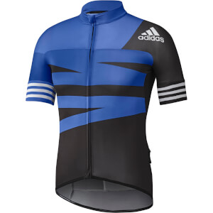 adidas Men's Adistar Cycling Jersey - Black