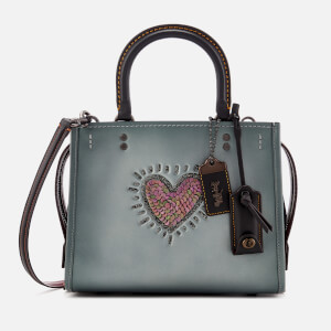 Coach 1941 Women's Heart Rogue Bag - 25 Metallic Smoke