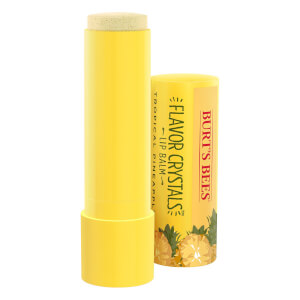 Burt's Bees Flavour Crystals 100% Natural Moisturising Lip Balm - Tropical Pineapple 4.53g