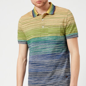 Missoni Men's Multi Stripe Classic Polo Shirt - Multi