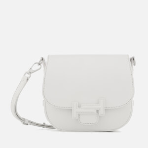 Tod's Women's Double T Mini Shoulder Bag - White
