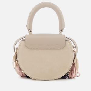 SALAR Women's Mimi Elvis Fringe Bag - Taupe: Image 2