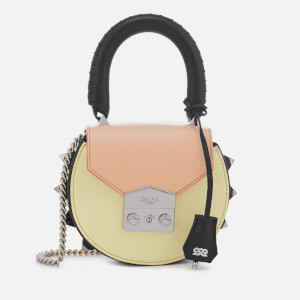 SALAR Women's Mimi Mini Multi Bag - Peach Banana Black