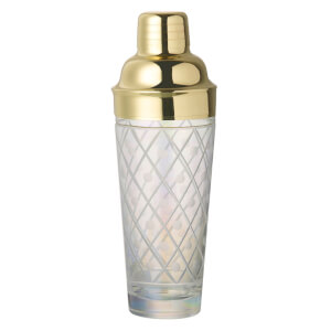 Parlane Lustre Glass Cocktail Shaker
