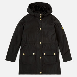Barbour Girls' International Garrison Jacket - Black