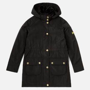 Barbour Girl's International Garrison Jacket - Black