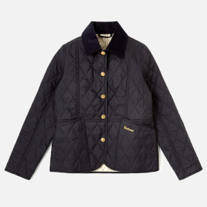 Barbour Girls' Summer Liddesdale Jacket - Navy/Pearl