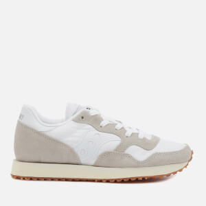 Saucony Women's DXN Vintage Trainers - White/Gum