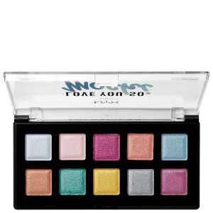 NYX Professional Makeup Love You So Mochi Eyeshadow Palette – Electric Pastels