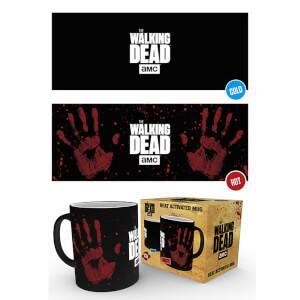 The Walking Dead Hand Print Heat Change Mug