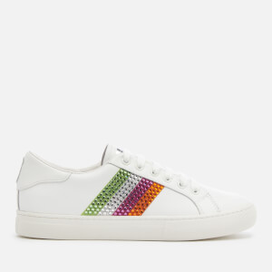 Marc Jacobs Women's Empire Strass Low Top Sneakers - Pink/Multi