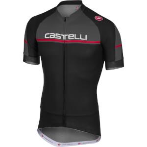 Castelli Distanza Jersey - Black