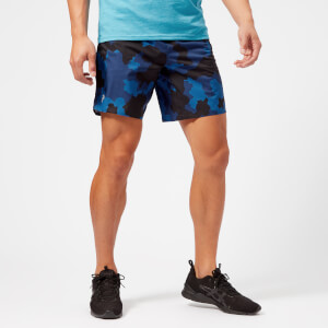 Peak Performance Men's Fremont Printed Shorts - Blue Camo: Image 1