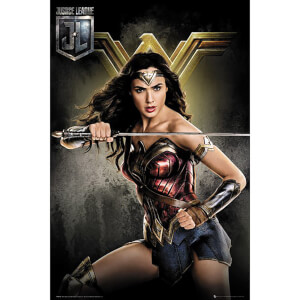 Justice League Wonder Woman Maxi Poster 61 x 91.5cm