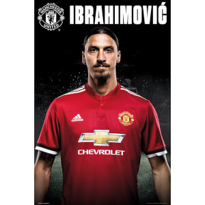 Manchester United Zlatan Stand 17/18 Maxi Poster 61 x 91.5cm