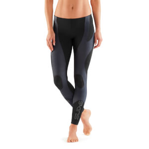 Skins K-Proprium Women's Compression Long Tights - Charcoal/Black