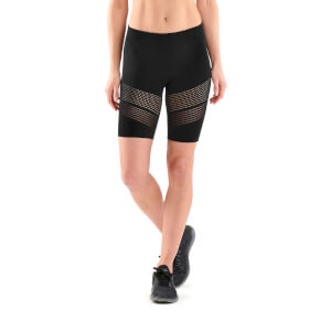 Skins DNAmic Women's Square Seamless Shorts - Black