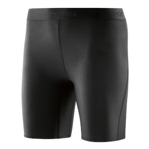 Skins DNAmic Women's Superpose Shorts - Black/Black