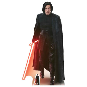 Star Wars: The Last Jedi Kylo Ren Over-Sized Cut Out