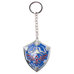 The Legend of Zelda - Hylian Shield 3D Metal Keychain