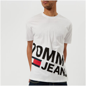 Tommy Jeans Men's Low Logo T-Shirt - Classic White