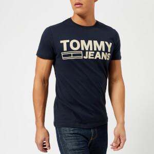 Tommy Jeans Men's Basic Crew Neck T-Shirt - Navy