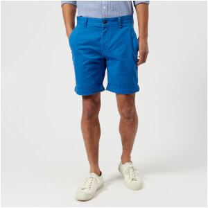 Tommy Jeans Men's Stretch Chino Shorts - Nautical Blue