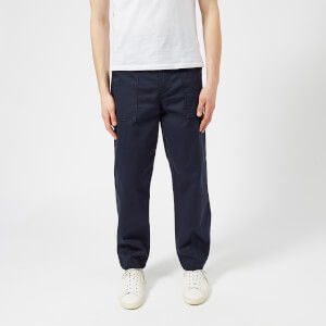 Universal Works Men's Fatigue Pants - Navy