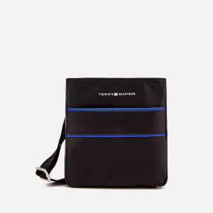 Tommy Hilfiger Men's Pop Stripe Mini Crossover Bag - Black/Sodalite Blue