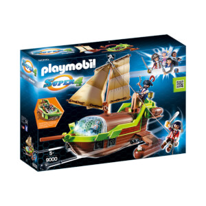 Playmobil Piraten-Chamäleon mit Ruby (9000)