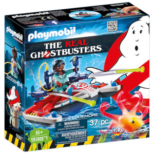 Playmobil Ghostbusters Zeddemore avec scooter des mers (9387)