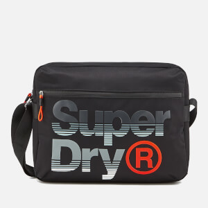 Superdry Men's Expander Lineman Messenger Bag - Black