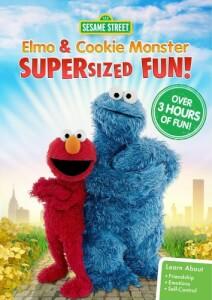 Sesame Street: Elmo & Cookie Monster Supersized