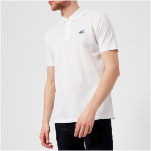 PS by Paul Smith Men's Regular Fit Octopus Polo Shirt - White