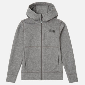 The North Face Boys' Slacker Hoodie - TNF Medium Grey Heather