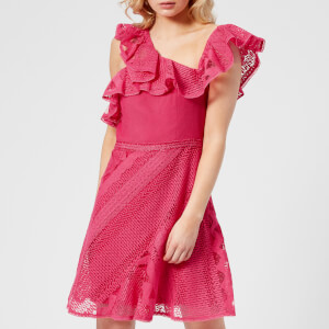 Three Floor Women's Forward Frill Dress - Camelia Rose