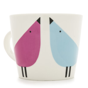 Scion Lintu Standard Bucket Mug - Sky, Rhubarb and Dandelion