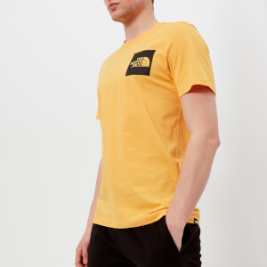 The North Face Men's Short Sleeve Fine T-Shirt - TNF Yellow