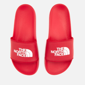 The North Face Men's Base Camp 2 Slide Sandals - TNF Red/TNF White