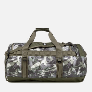 The North Face Basecamp Duffel Bag - Medium - English Green Tropical Camo/New Taupe Green