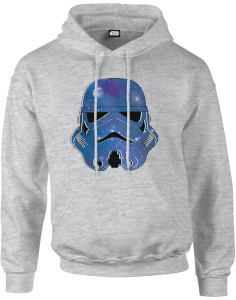 Star Wars Space Stormtrooper Pullover Hoodie - Grey