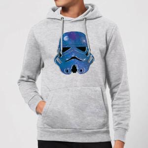 Sweat à Capuche Homme Stormtrooper de l'Espace - Star Wars - Gris