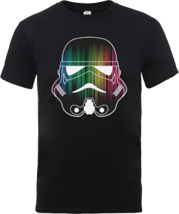 T-Shirt Homme Vertical Lights Stormtrooper - Star Wars - Noir