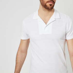 Orlebar Brown Men's Felix Polo Shirt - White