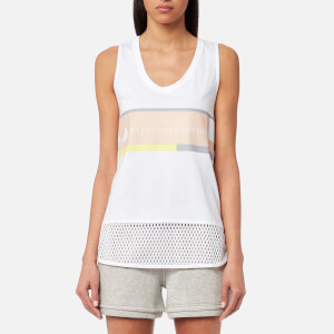adidas by Stella McCartney Women's Essential Logo Tank Top - White